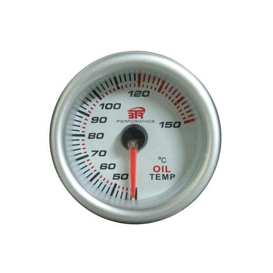 ACT-RELOJ180 Reloj de medición de la temperatura del aceite BTR blanco