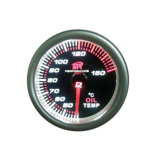 ACT-RELOJ380 Reloj de medición de la temperatura del aceite BTR negro
