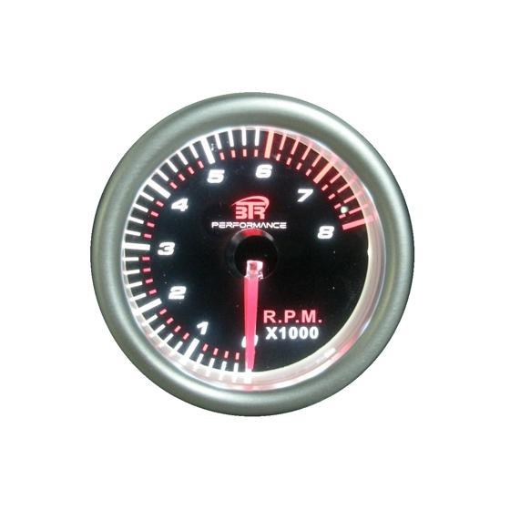 ACT-RELOJ370 Reloj tacómetro de 0 a 8000 RPM BTR negro