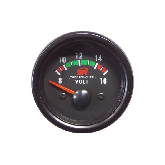 ACT-RELOJ440 Reloj Voltímetro BTR negro